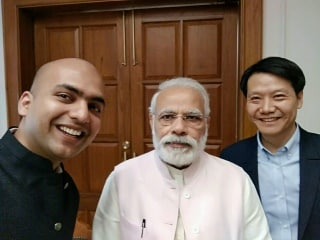 Xiaomi CEO Meets PM Modi, Discusses Manufacturing and Growth Plans