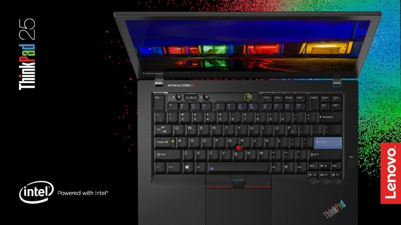 Lenovo ThinkPad Anniversary Edition 25 Laptop With Retro ThinkPad Design Launched