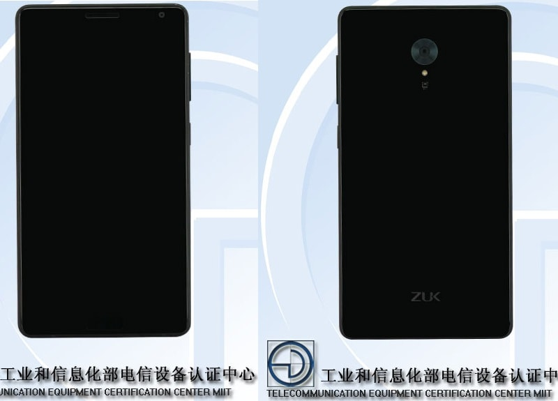 Lenovo Zuk Edge to Sport Snapdragon 821 SoC and 6GB of RAM, Tips Certification Site