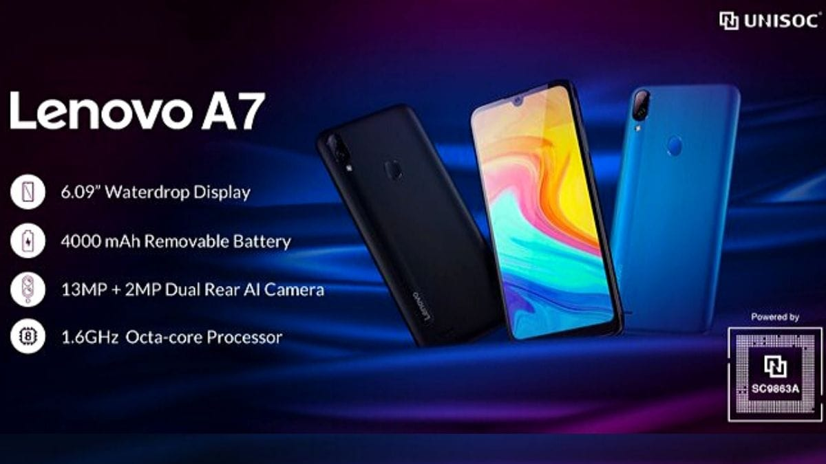 Lenovo A7 With Dual Rear Cameras, Unisoc SC9863A SoC Revealed: What We Know Right Now