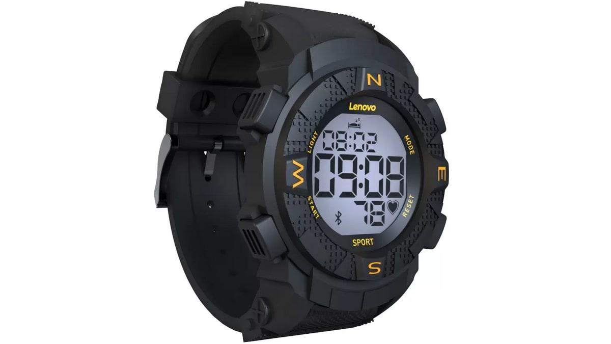 Lenovo Ego Digital Smartwatch With Heart Rate Sensor Fitness
