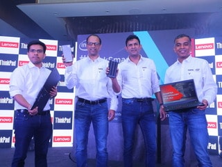Lenovo Launches ThinkPad Laptops, ThinkCentre PCs for Enterprises in India