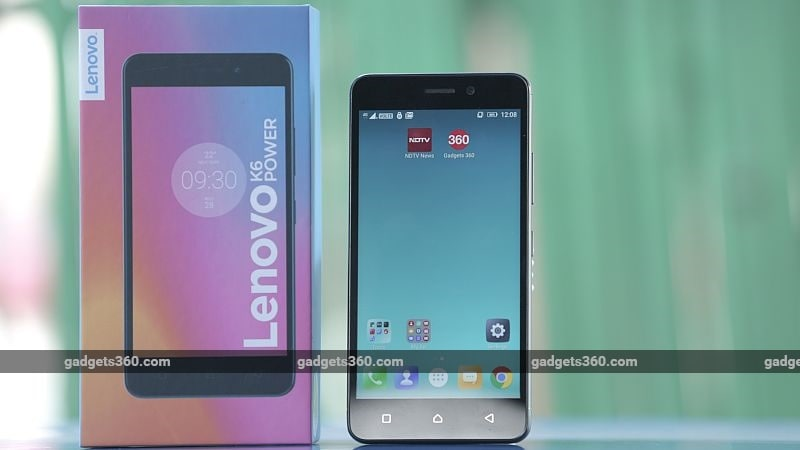Lenovo K6 Power Review | NDTV Gadgets360 com