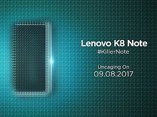 Lenovo K8 Note India Sale, Samsung Galaxy A5 (2017) & Galaxy A7 (2017) Price Cuts, and More: Your 360 Daily