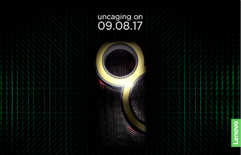 Lenovo K8 Note India Launch Set for August 9, Teaser Hints