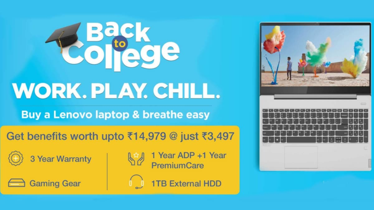 Lenovo Back to College Sale Offers Yoga, Ideapad, Legion Laptops With Deals and Discounts