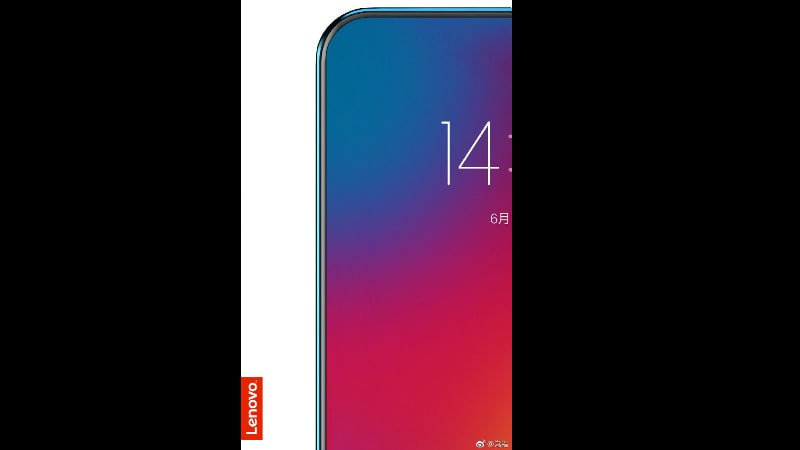 Lenovo Teased a NEW Full Screen Smartphone without Notch on June 14