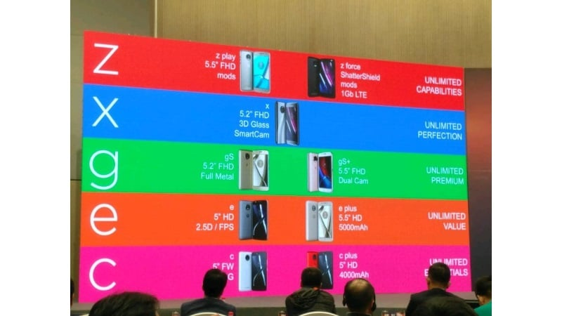 Moto's Entire Smartphone Lineup for 2017 Gets Leaked, With a Few Surprises