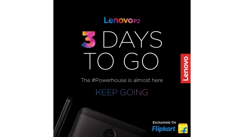 Lenovo P2 With 5100mAh Battery Set to Launch in India on Wednesday