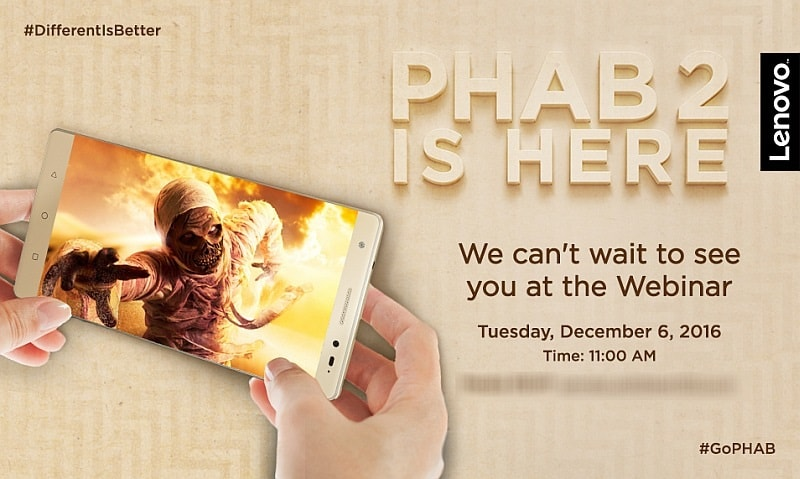 lenovo phab 2 india invite lenovo