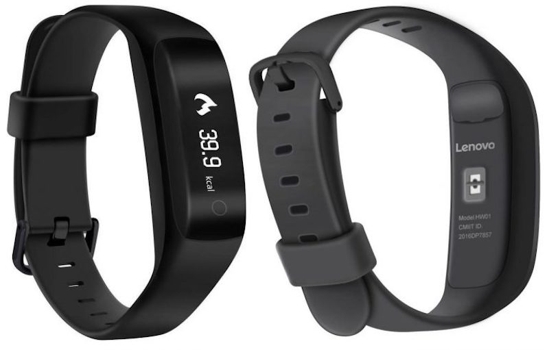 Lenovo HW01 Smart Band with Heart Rate Monitor launched for Rs. 1999