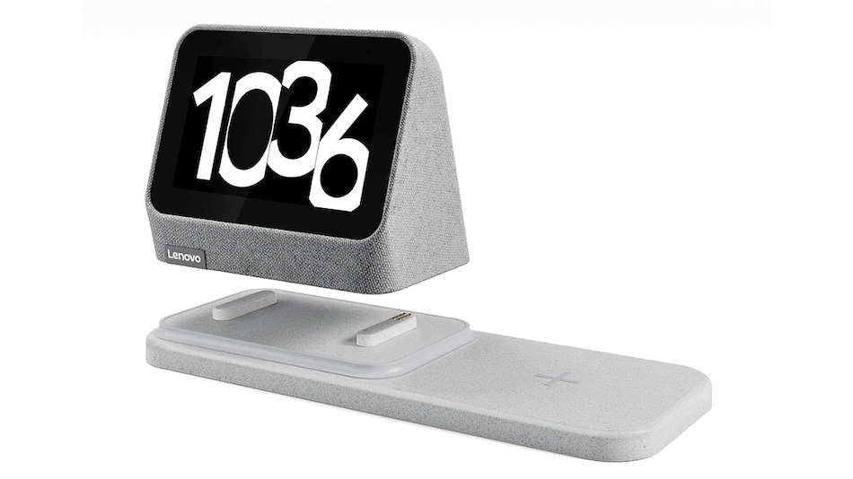 Lenovo Smart Clock 2 With Wireless Charging Dock, Google Assistant Launched