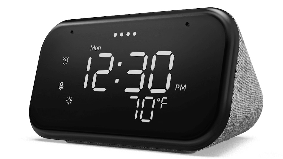 Lenovo Smart Clock Essential With Built-in Google Assistant Launched