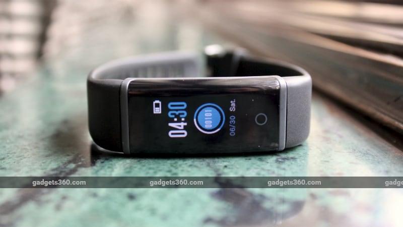 Lenovo HX03F Spectra Fitness Band Review | NDTV Gadgets360 com