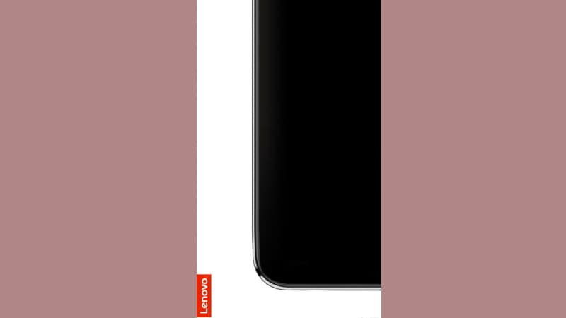Lenovo Z5's Fullscreen Display Without Notch or Chin Teased in New Render