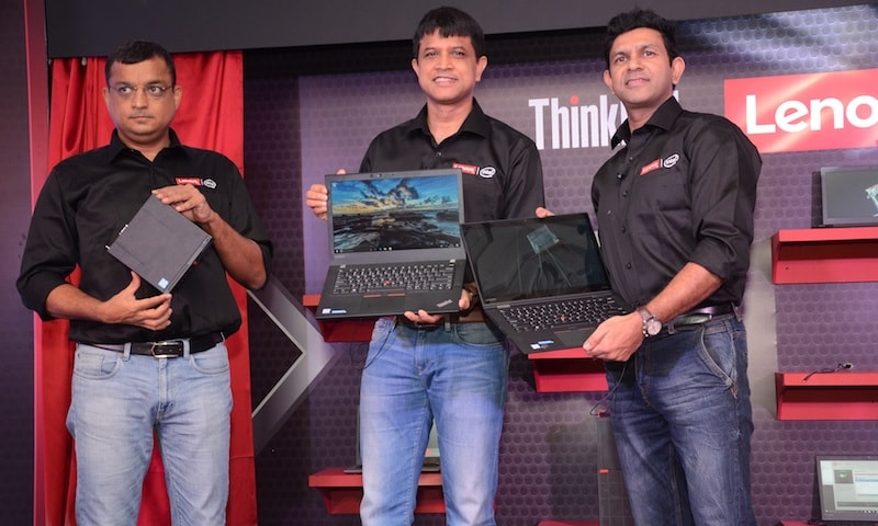 Lenovo Unveils Range of Think Desktops, Laptops, and Monitors in India