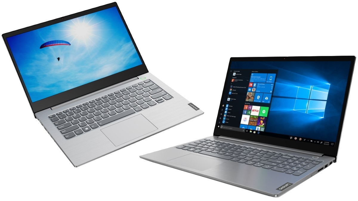 Lenovo ThinkBook 14, ThinkBook 15 With 10th-Gen Intel Core