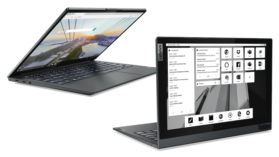 Lenovo ThinkBook 13x i, ThinkBook 14p Gen 2, ThinkBook 16p Gen 2, ThinkBook Plus Gen 2 i Laptops Launched at CES 2021