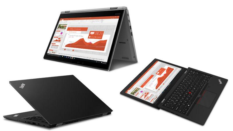Lenovo ThinkPad L390 and ThinkPad L390 Yoga With Upgraded Intel 'Whiskey Lake' CPUs Announced