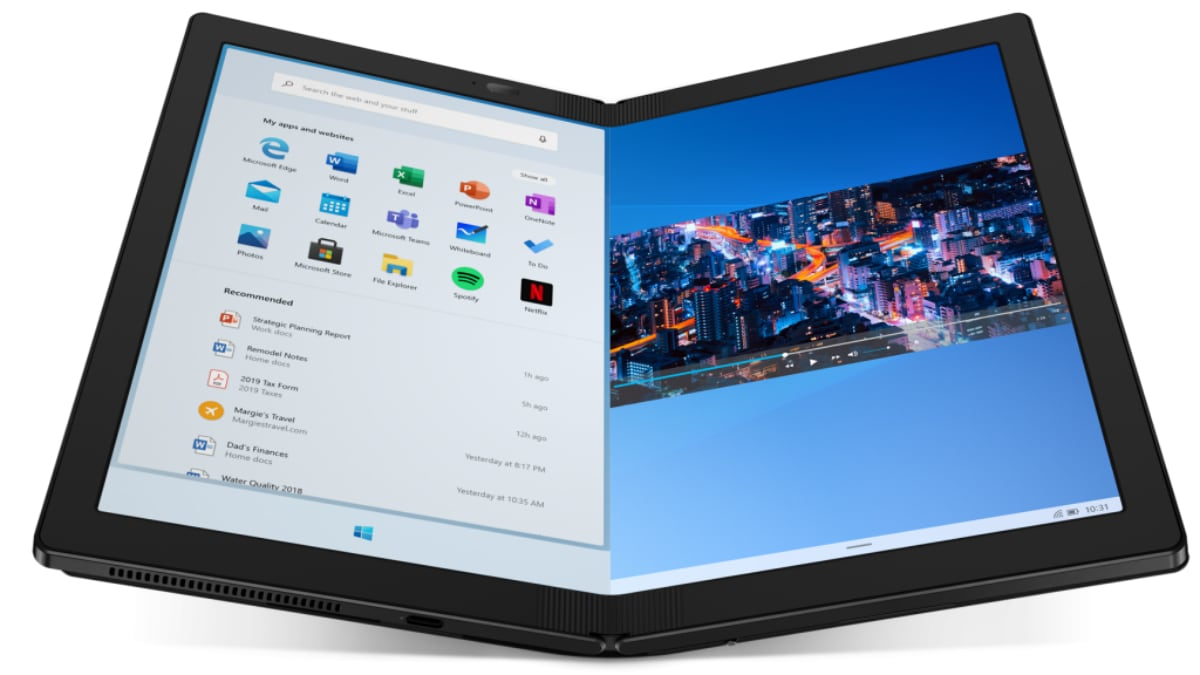 Lenovo at CES 2020: ThinkPad X1 Fold With Foldable Display, Mechanical Hinge Launched