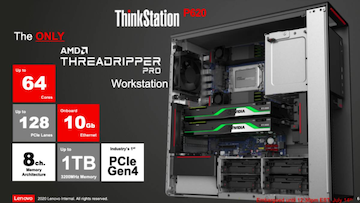 Amd Ryzen Threadripper Pro Workstation Cpus Announced With Up To 64 Cores 128 Pcie 4 0 Lanes Technology News