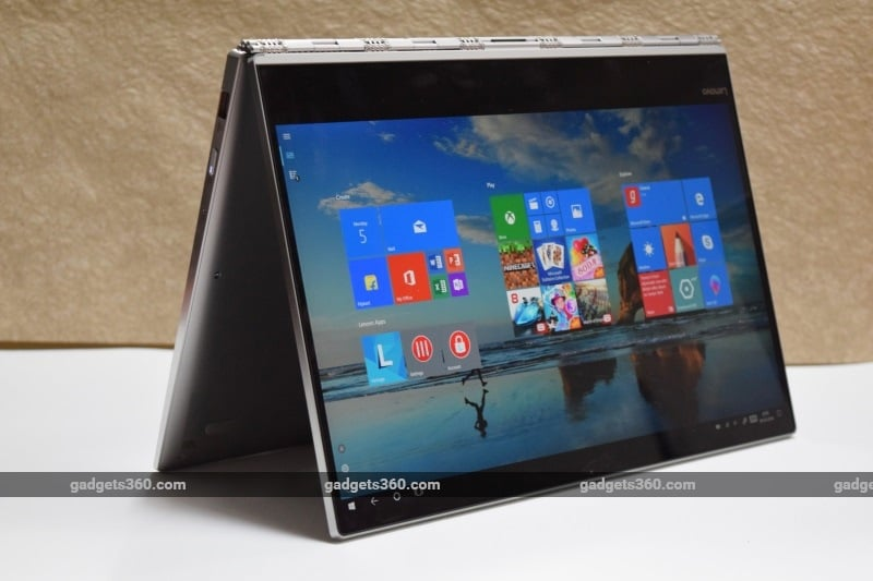 Lenovo Yoga 920 Vibes Edition Review | NDTV Gadgets360 com