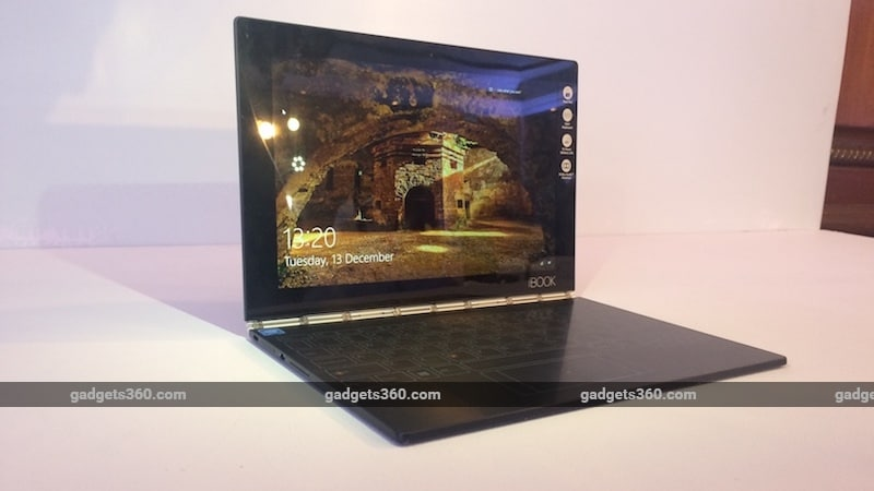 Lenovo Yoga Book, 'World's Thinnest 2-in-1', Launched in ...