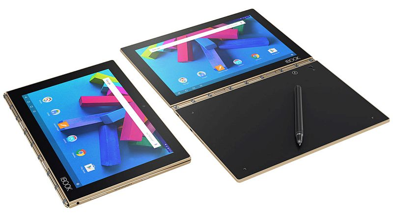 Lenovo Yoga Book 2-in-1 Running Chrome OS Set to Launch in 2017