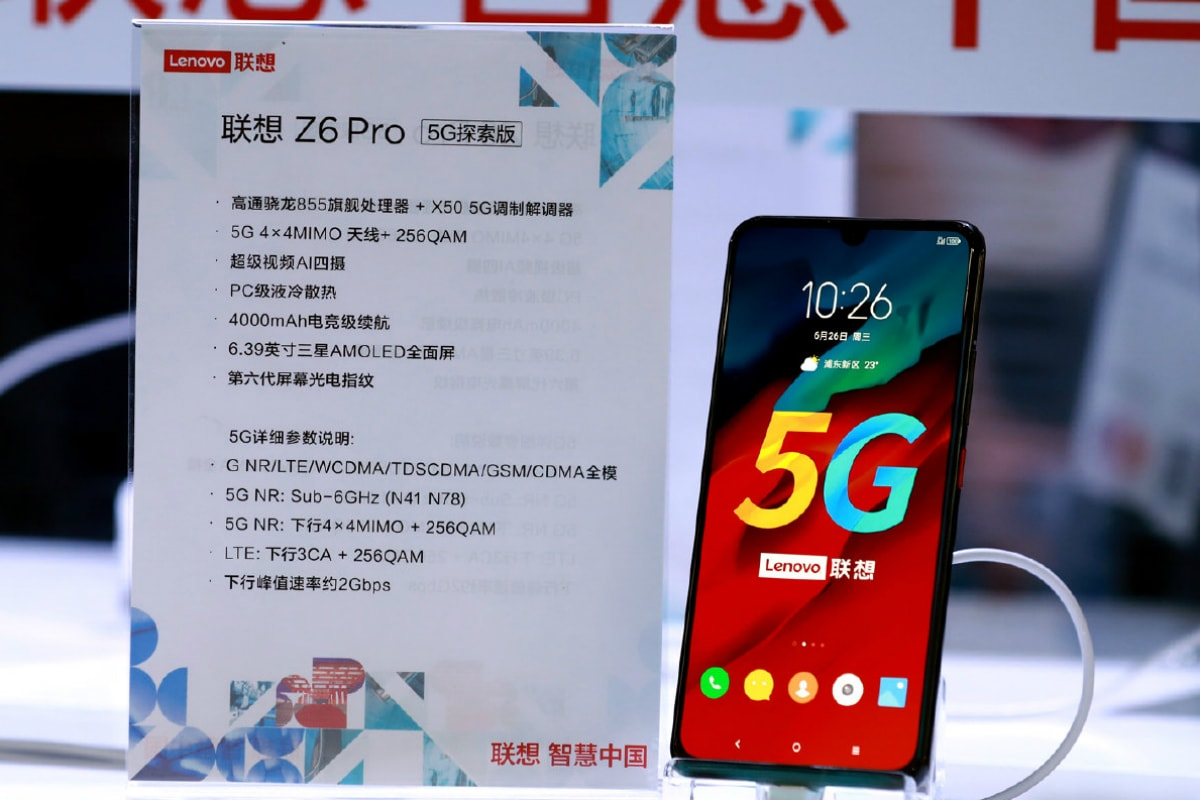 Lenovo Z6 Pro 5G Edition Debuts With Snapdragon X50 Modem, 'World's First 5G Laptop' Unveiled Too