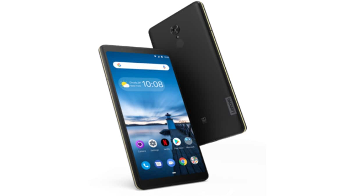 Lenovo Tab V7 Tablet With Dual Front-Facing Speakers, 5,180mAh Battery Launched in India: Price, Specifications