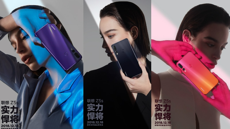 Lenovo Z5s Ferrari SuperFast Variant With 12GB RAM Leaked, Colour Options Teased Ahead of Launch