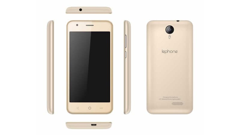 Lephone W2 Launched With Support for 4G VoLTE, 22 Regional Languages