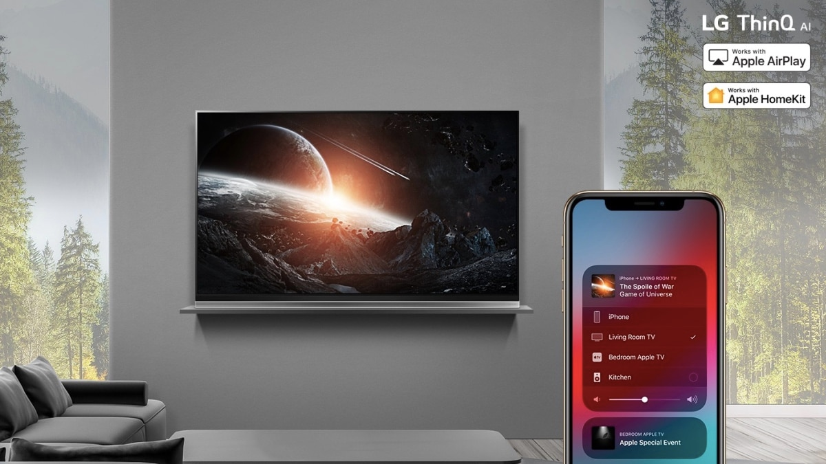 LG Brings Apple AirPlay 2, HomeKit Support to Its 2019 Smart TV Range