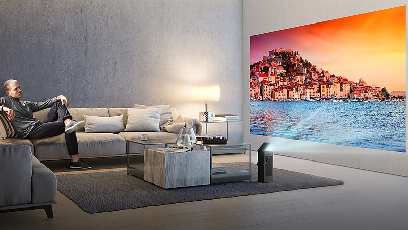 LG 4K UHD HU80KA Projector With HDR Support Unveiled Ahead of CES 2018