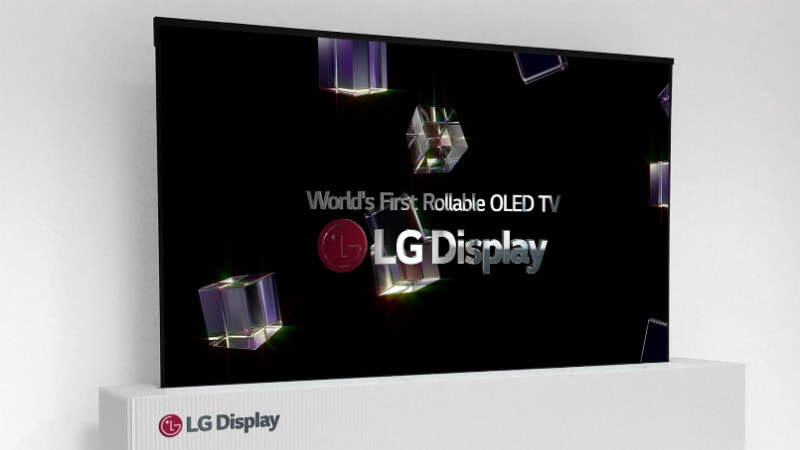 CES 2018: LG 65-Inch UHD Rollable OLED, 88-Inch 8K OLED Display Showcased