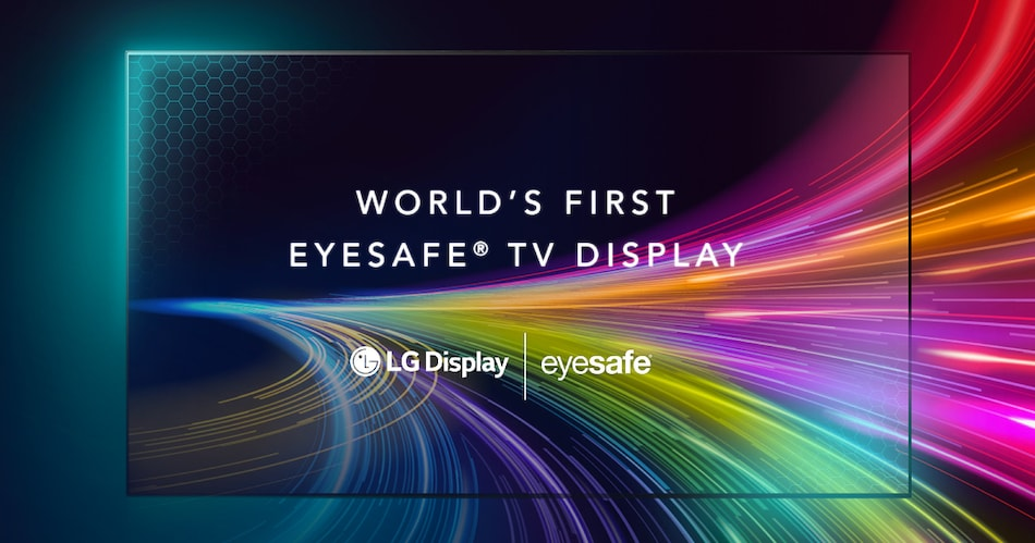 LG Unveils World's First Eyesafe-Certified TV Display, Will be Showcased at CES 2021