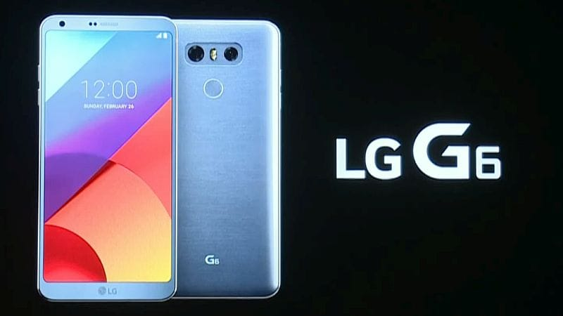 LG G6 With Dual Rear Cameras Launched at MWC 2017