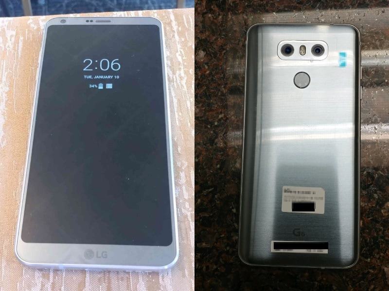 LG G6 Specifications, Images Leaked Ahead of Next Week's Launch
