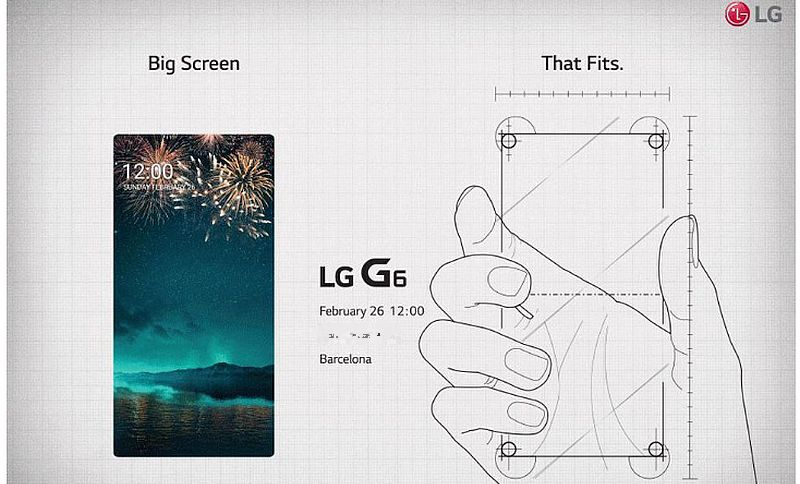 LG G6 Launch Invite Teases Bezel-Less Display; Release Date for Select Markets Rumoured