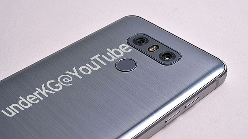 LG G6 Leaked in Fresh Photos Showcasing Dual Rear Cameras, Brushed Metal Design