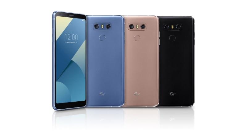 LG G6+ के साथ एलजी जी6 का 32 जीबी वेरिएंट लॉन्च