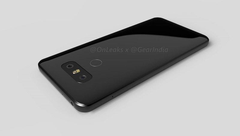 lg g6 render back LG G6 Render