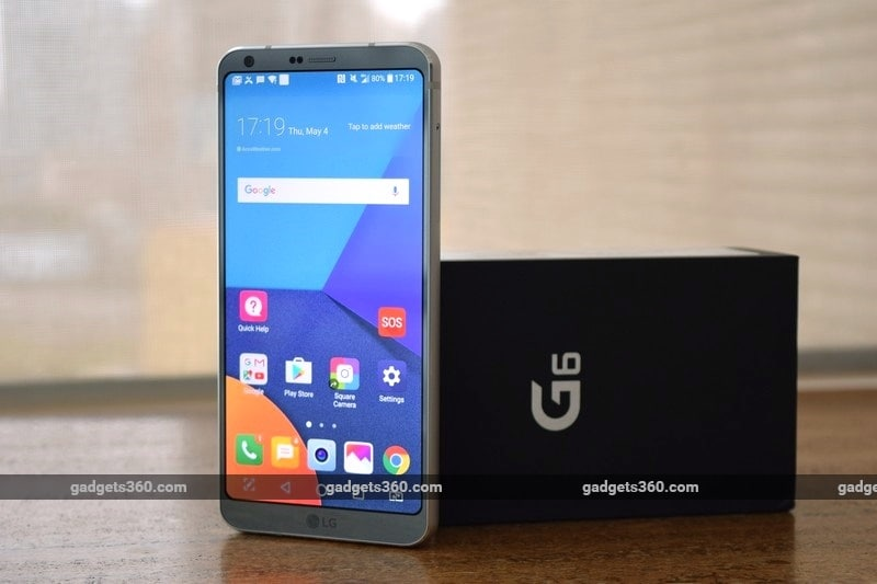 LG G6 going for Rs 38990 in India via Amazon