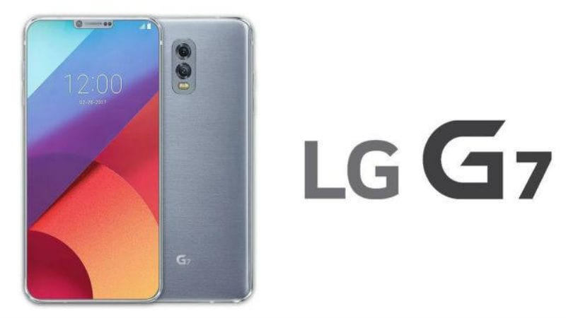 LG G7 ThinQ smartphone live photos shared online
