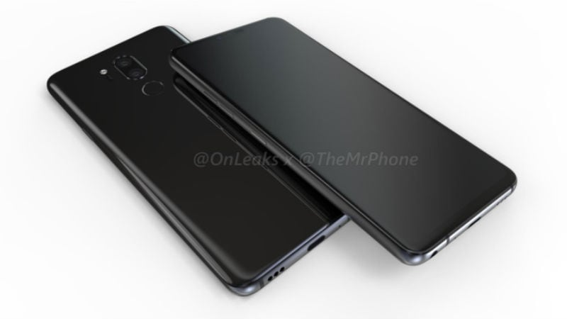 LG G7 Renders Show Display Notch