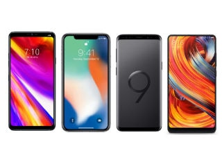LG G7 ThinQ vs iPhone X vs Samsung Galaxy S9 vs Xiaomi Mi MIX 2S: Price, Specifications Compared
