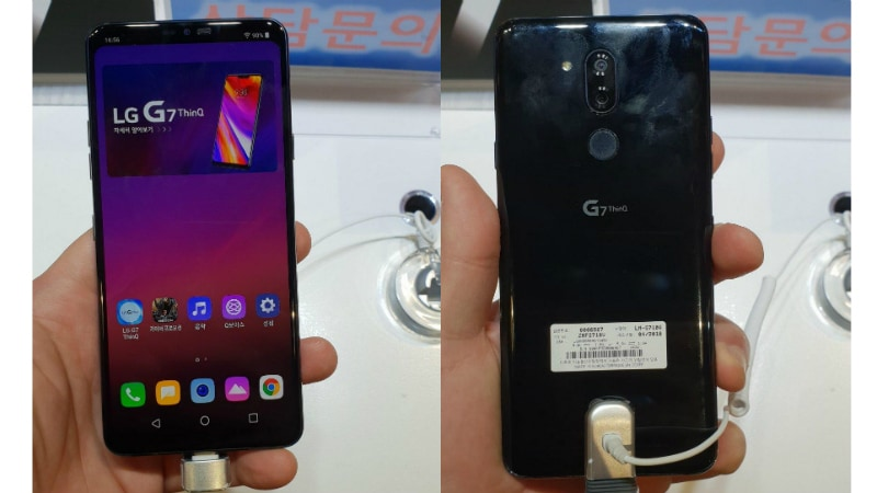 LG G7 ThinQ Hands-On Images Surface, Show Hideable Notch Ahead of Today's Launch