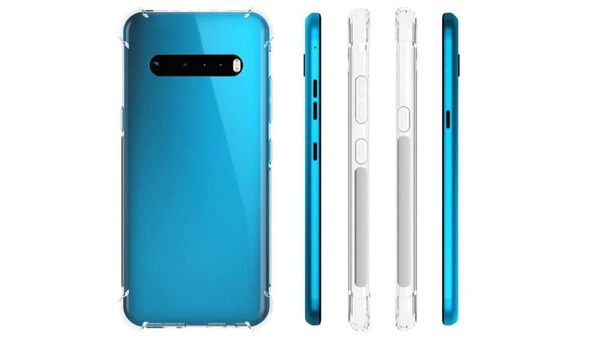 LG G9 Case Renders, LG V60 ThinQ Back Panel Photos Leak Design Details