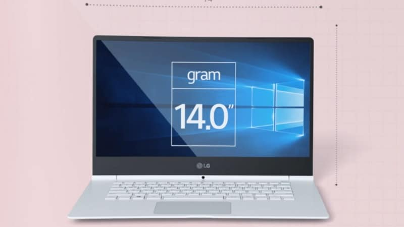 LG Gram 14 Laptop Launched at CES 2017; Claimed to Give 24 Hours of Battery Life