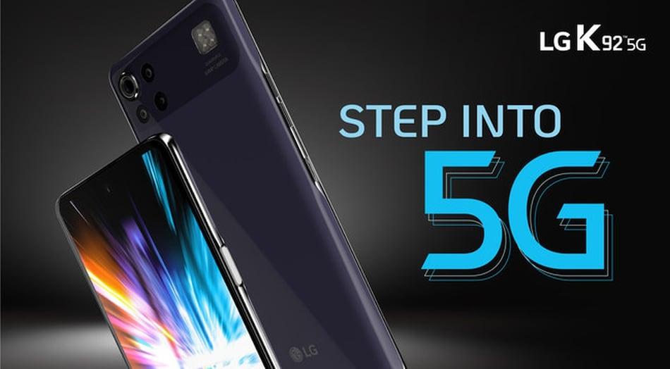 LG K92 5G फोन 64 मेगापिक्सल प्राइमरी कैमरे व स्नैपड्रैगन 690 प्रोसेसर के साथ लॉन्च